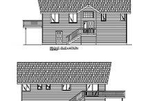 Home Plan - Modern Exterior - Other Elevation Plan #117-195