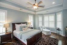 House Plan Design - Country Interior - Master Bedroom Plan #929-610