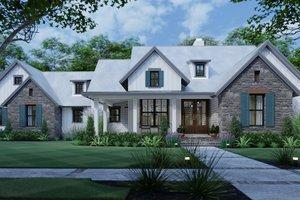 Cottage Exterior - Front Elevation Plan #120-269