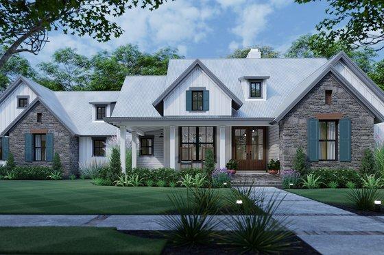 House Plan Design - Cottage Exterior - Front Elevation Plan #120-269