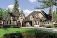 Dream House Plan - Front View - 2900 square foot Traditional home