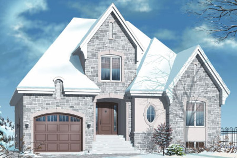 European Exterior - Other Elevation Plan #23-2244 - Houseplans.com