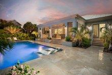Cottage Exterior - Rear Elevation Plan #938-107