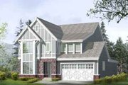 Country Style House Plan - 3 Beds 2.5 Baths 2632 Sq/Ft Plan #132-115 Exterior - Front Elevation