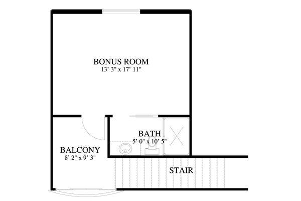 Dream House Plan - Traditional Floor Plan - Upper Floor Plan #1060-81