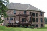European Style House Plan - 5 Beds 4.5 Baths 3525 Sq/Ft Plan #927-24 Exterior - Rear Elevation
