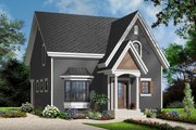 Country Style House Plan - 3 Beds 1.5 Baths 1638 Sq/Ft Plan #23-2240 Exterior - Front Elevation