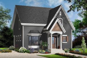 Country Exterior - Front Elevation Plan #23-2240