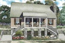 House Plan Design - Cottage Exterior - Front Elevation Plan #17-2345