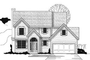 Traditional Exterior - Front Elevation Plan #67-138