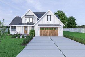Farmhouse Exterior - Front Elevation Plan #1070-16