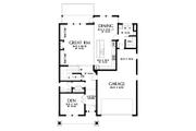 Cottage Style House Plan - 5 Beds 3.5 Baths 3770 Sq/Ft Plan #48-997 Floor Plan - Main Floor