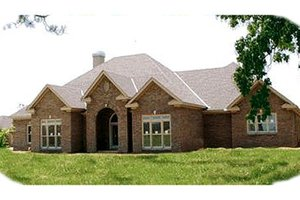 Traditional Exterior - Front Elevation Plan #63-112