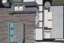 Architectural House Design - Traditional Interior - Kitchen Plan #44-245