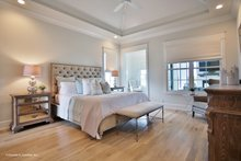European Interior - Master Bedroom Plan #929-1009