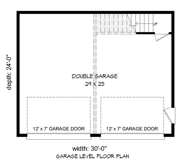 Contemporary Floor Plan - Main Floor Plan #932-193
