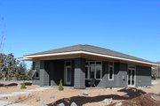 Prairie Style House Plan - 2 Beds 2 Baths 1121 Sq/Ft Plan #895-119 Exterior - Other Elevation