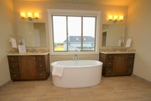 Architectural House Design - Prairie Interior - Master Bathroom Plan #124-969