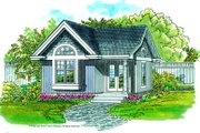 Traditional Style House Plan - 0 Beds 0 Baths 288 Sq/Ft Plan #47-640 Exterior - Front Elevation