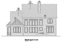 Home Plan - Traditional Exterior - Rear Elevation Plan #20-2287