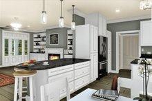 Dream House Plan - Traditional Interior - Kitchen Plan #44-236