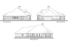 Dream House Plan - Mediterranean Exterior - Other Elevation Plan #80-142