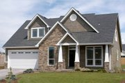 Craftsman Style House Plan - 3 Beds 2.5 Baths 2289 Sq/Ft Plan #48-553 Exterior - Front Elevation