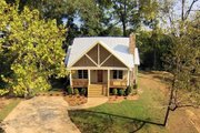 Country Style House Plan - 3 Beds 3.5 Baths 1972 Sq/Ft Plan #932-3 Exterior - Other Elevation