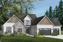 House Plan Design - Traditional Exterior - Front Elevation Plan #23-401