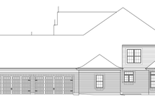 Tudor Exterior - Other Elevation Plan #57-575
