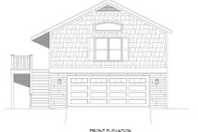 Country Exterior - Front Elevation Plan #932-253