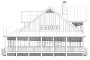 Country Style House Plan - 4 Beds 3.5 Baths 2123 Sq/Ft Plan #932-145 Exterior - Other Elevation