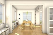 Dream House Plan - Colonial Interior - Dining Room Plan #497-19