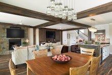 Bungalow Interior - Dining Room Plan #928-330