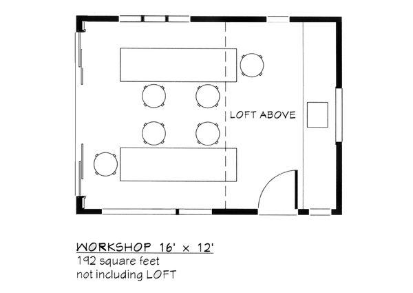 Contemporary Floor Plan - Main Floor Plan #917-27