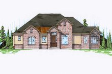 Home Plan - Traditional Exterior - Front Elevation Plan #5-257