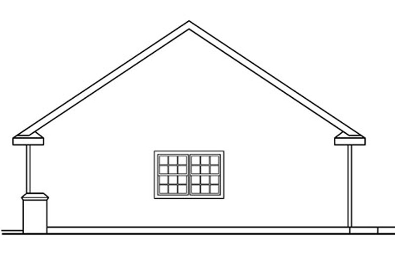 Traditional Exterior - Other Elevation Plan #124-721 - Houseplans.com