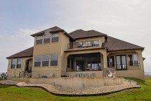 Dream House Plan - European Exterior - Rear Elevation Plan #80-160