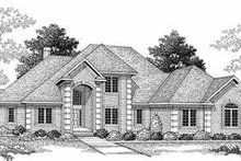 Traditional Exterior - Front Elevation Plan #70-480