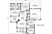 Traditional Style House Plan - 3 Beds 2 Baths 2088 Sq/Ft Plan #51-485 Floor Plan - Main Floor Plan