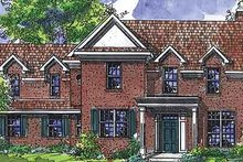 Home Plan - Colonial Exterior - Front Elevation Plan #320-472