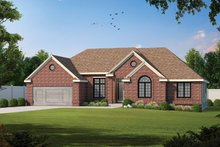 House Plan Design - Traditional Exterior - Front Elevation Plan #20-2419