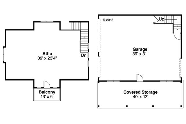 Craftsman Floor Plan - Main Floor Plan Plan #124-934