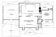 Southern Style House Plan - 3 Beds 2 Baths 2441 Sq/Ft Plan #137-160 Floor Plan - Upper Floor Plan