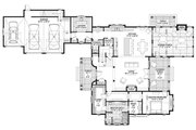 Country Style House Plan - 4 Beds 4.5 Baths 3466 Sq/Ft Plan #928-337 Floor Plan - Main Floor Plan