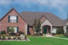 Dream House Plan - European Exterior - Front Elevation Plan #52-180
