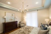Prairie Style House Plan - 3 Beds 3.5 Baths 2476 Sq/Ft Plan #930-463 Interior - Master Bedroom
