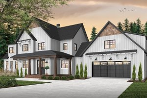 Farmhouse Exterior - Front Elevation Plan #23-2687
