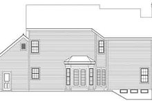 Architectural House Design - Country Exterior - Rear Elevation Plan #57-132