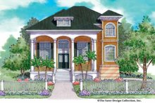 Home Plan - Classical Exterior - Front Elevation Plan #930-144